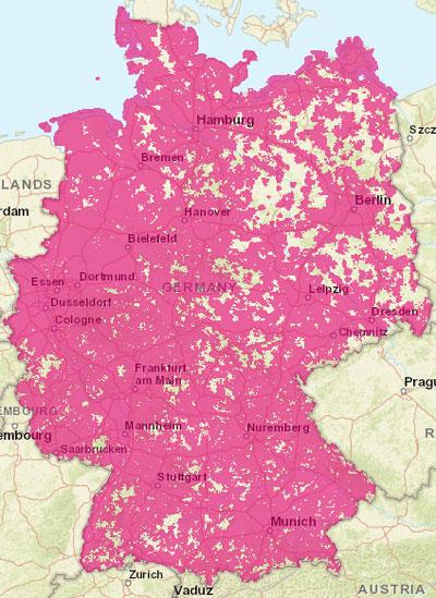 T-Mobile-3G-Netzabdeckung